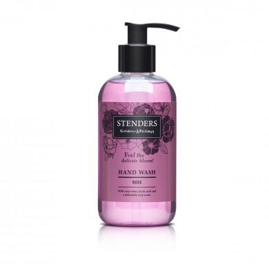 Розовое жидкое мыло image