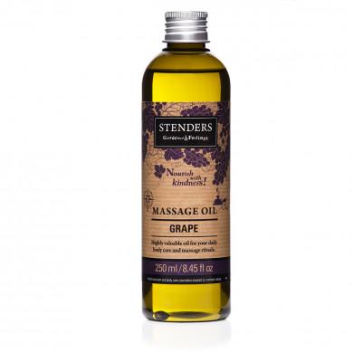 Виноградное массажное масло для ухода за телом