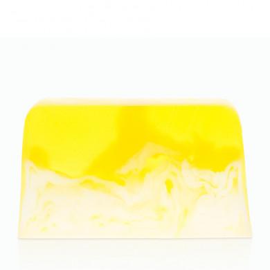 Лимонное мыло с кремом