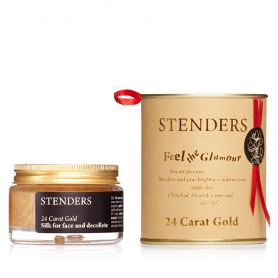 24-каратный золотой крем-шелк для лица и декольте