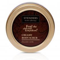 Шоколадно-ванильный кремовый скраб для тела