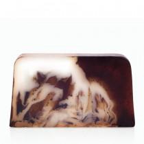 Кофейное мыло с кремом