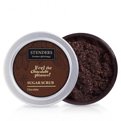 Шоколадный сахарный скраб image