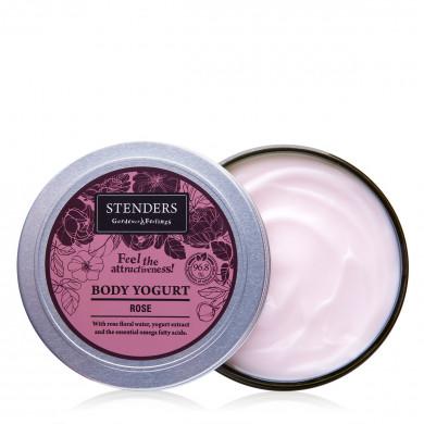Розовый йогурт для тела image