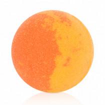 Апельсиновый бурлящий шар