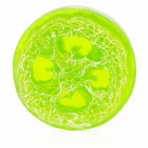 Яблочное мыло с люффой